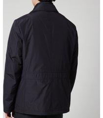 canali men's detach inner travel jacket - navy - it 50/uk 40