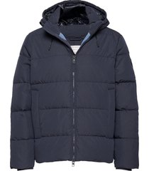 d2. the alta down jacket fodrad jacka blå gant
