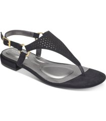 rockport women's total motion zosia thong sandals women's shoes