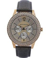 reloj cobre-dorado mark maddox