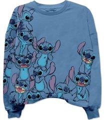 disney juniors' stitch sweatshirt