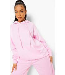 petite official studio hoodie, light pink
