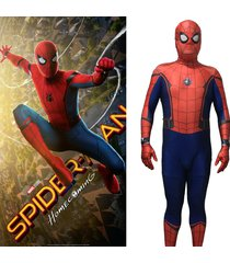 homecoming spiderman costume 3d printed cosplay zentai suit spider-man costume