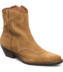 stb-arietta s shoes boots ankle boots ankle boot - flat brun shoe the bear