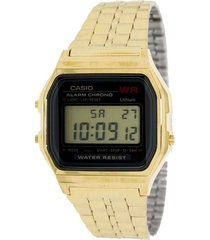 reloj casio a159wgea_1 dorado acero inoxidable