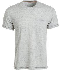 sun + stone men's blair contrast neck stitch t-shirt, created for macy's