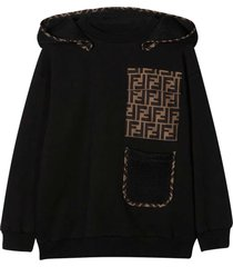 fendi black sweatshirt