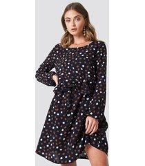 rut&circle dotty dress - blue