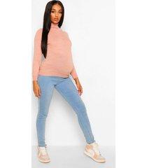 zwangerschaps lichte top met col, light pink