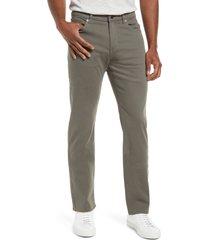 men's dl1961 russell slim straight leg jeans, size 33 x 34 - green