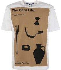 junya watanabe the hard life printed t-shirt