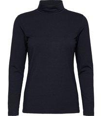t-shirt l/s turtleneck polotröja blå brandtex