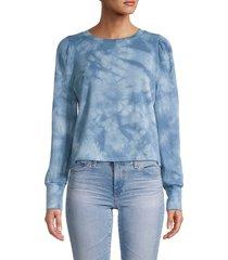 bb dakota women's groove thing sweatshirt - blue - size l