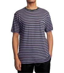 men's knit crew neck t-shirt