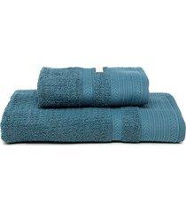 jogo de banho 2pã§s buddemeyer london azul - azul - dafiti