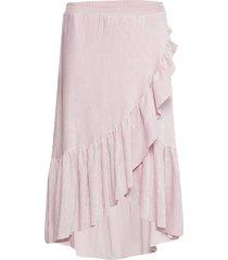 heather skirt knälång kjol rosa designers, remix