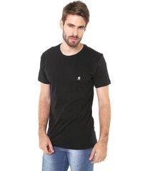 camiseta polo wear bã¡sica preta - preto - masculino - algodã£o - dafiti