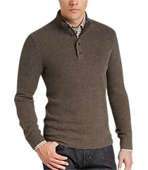 joseph abboud brown sweater
