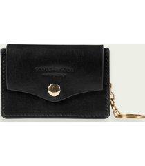 scotch & soda leather key chain wallet