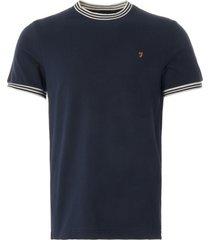 farah texas t-shirt | true navy | f4ksb075-412