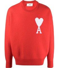 ami large de coeur crewneck sweater