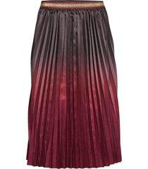 skirt knälång kjol röd sofie schnoor
