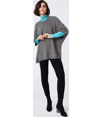 maglia cappa cashmere