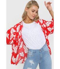 kimono rojo al aniz