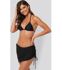 na-kd swimwear swim skirt - black