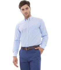 camisa cuadros azul corona