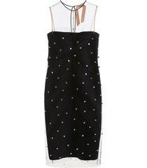 n.21 crystal-embellished dress