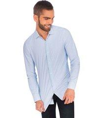 camisa business casual premium super stretch para hombre 91003