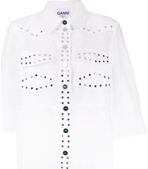 licht linnen overhemd