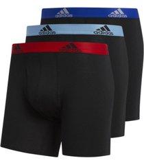 adidas men's 3-pk. stretch performance boxer briefs