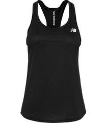 accelerate tank v2 t-shirts & tops sleeveless svart new balance