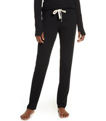 women's skarlett blue daydream lounge pants, size large - black