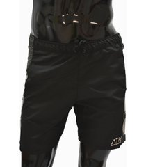 ***pantaloneta antifluido-negra athletic air m