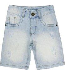 shorts infantil look jeans sky jeans masculino