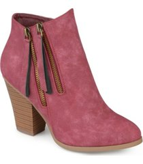 journee collection women's vally bootie women's shoes