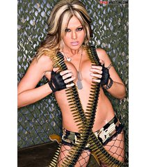 wwe  velvet sky ammo belt     2.5 x 3.5 fridge magnet