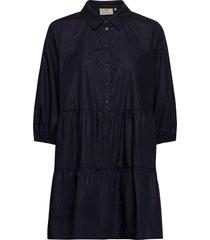 kabeata dress shirt tunika blå kaffe