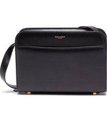 calfskin leather shoulder bag
