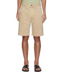 straight cut bermuda shorts