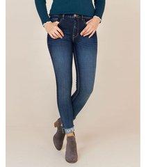 jean skinny apliques bordados