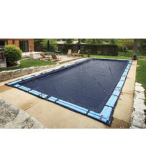 blue wave sports arcticplex in-ground 30' x 50' rectangular winter cover