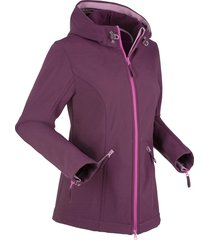 giacca in softshell (viola) - bpc bonprix collection