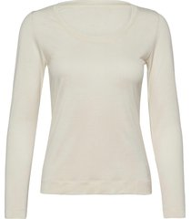 delicate jersey tabitha t-shirts & tops long-sleeved wit mads nørgaard