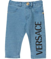 young versace jeans leggings