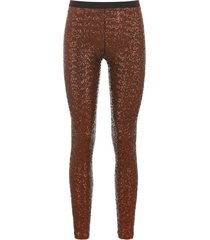 gianluca capannolo sequins leggings
