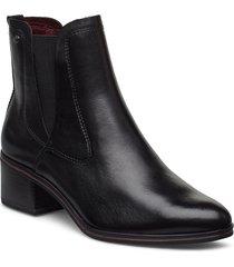 boots shoes boots ankle boots ankle boots with heel svart tamaris